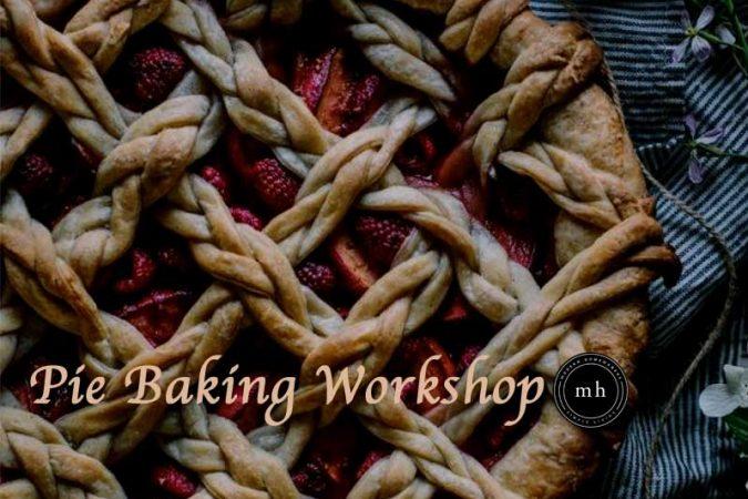 Modern Homemakers Pie Baking Workshop on January 19, 2017