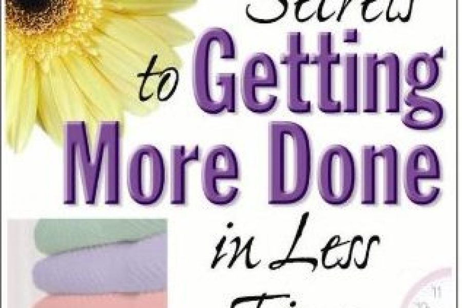 Forms from Secrets to Getting More Done in less time