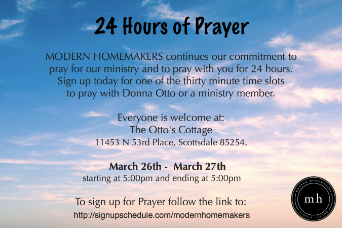 24 HOUR DAY OF PRAYER