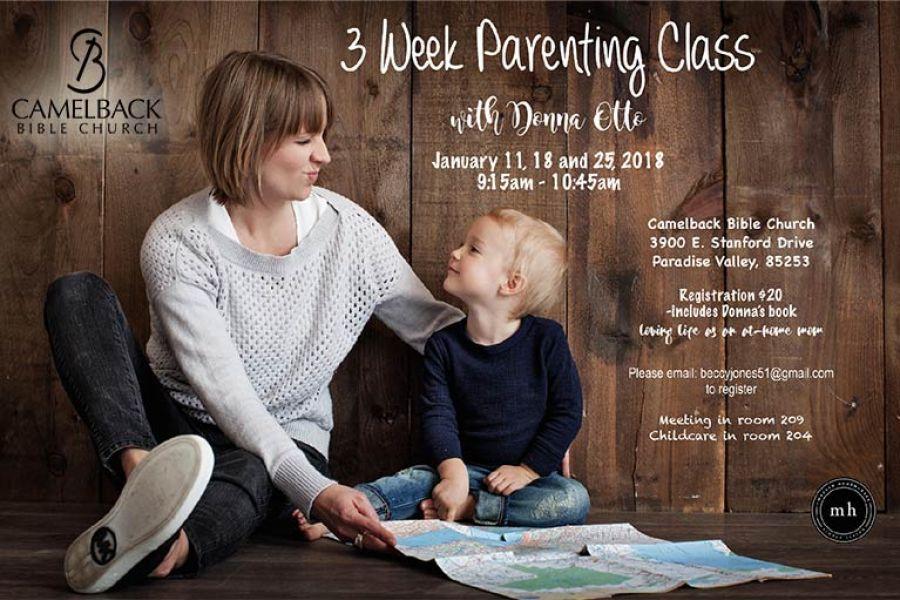 3 Week Parenting Class
