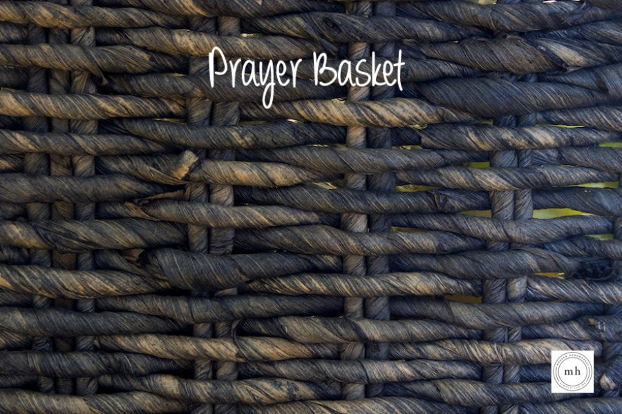 Prayer Basket