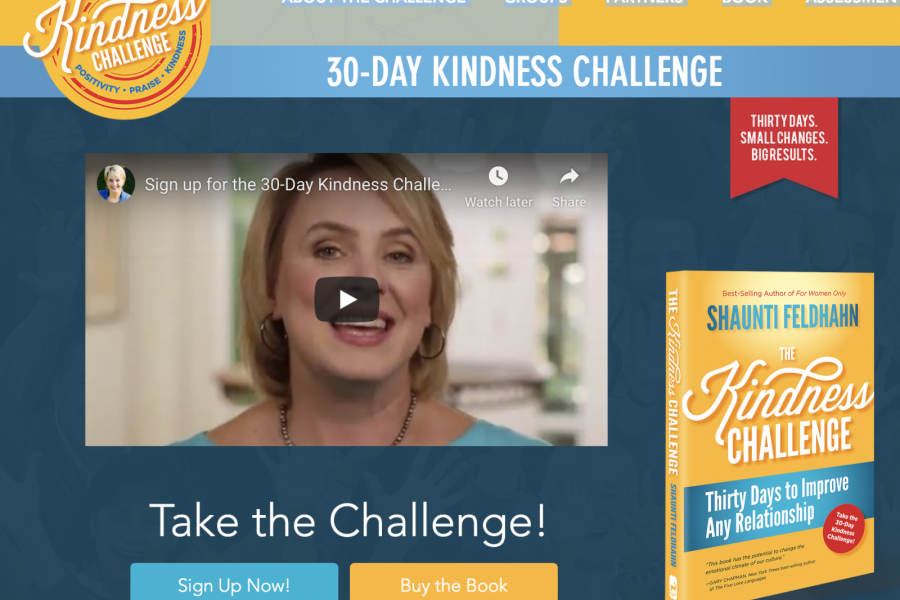 The Kindness Challenge starts Sept. 23rd in Arizona
